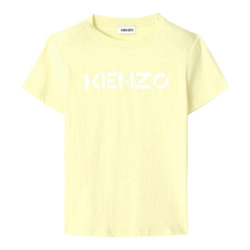 Kenzo Logo Vanilla T- Shirt
