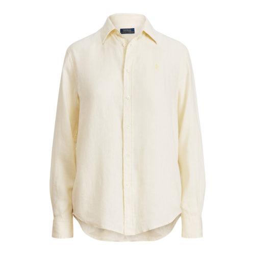Polo Ralph Lauren Linnen Beige Skjorte