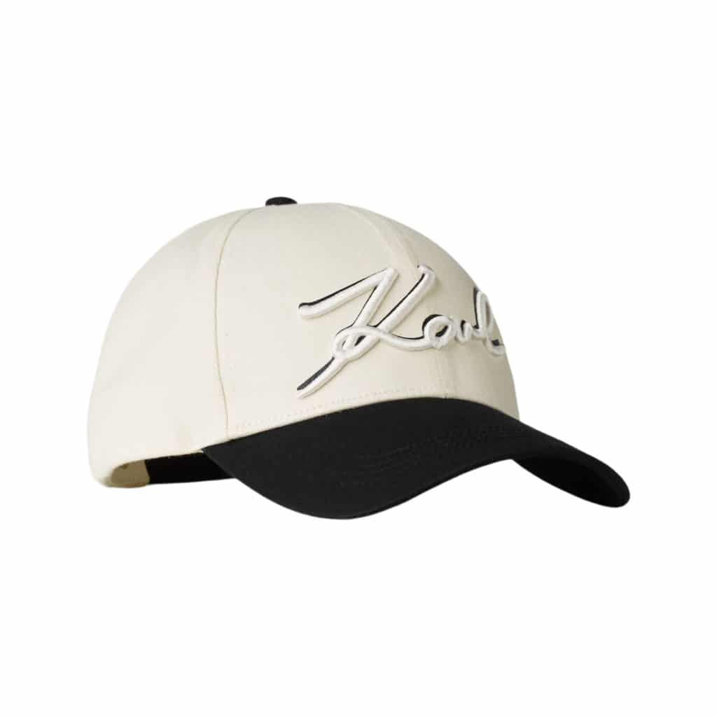 Karl Lagerfeld Signature Logo Kasket