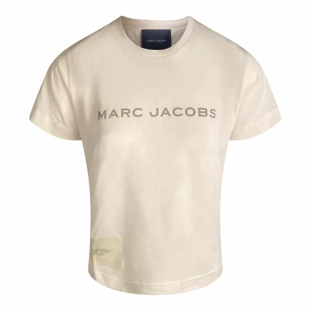 Marc Jacobs THE t-shirt Chalk