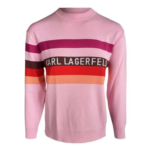 Karl Lagerfeld Lyserød Pullover