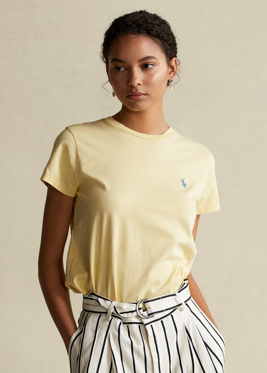 Polo Ralph Lauren Pastel gul t-shirt