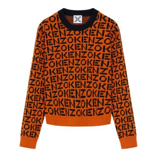 Kenzo Orange Logo Top