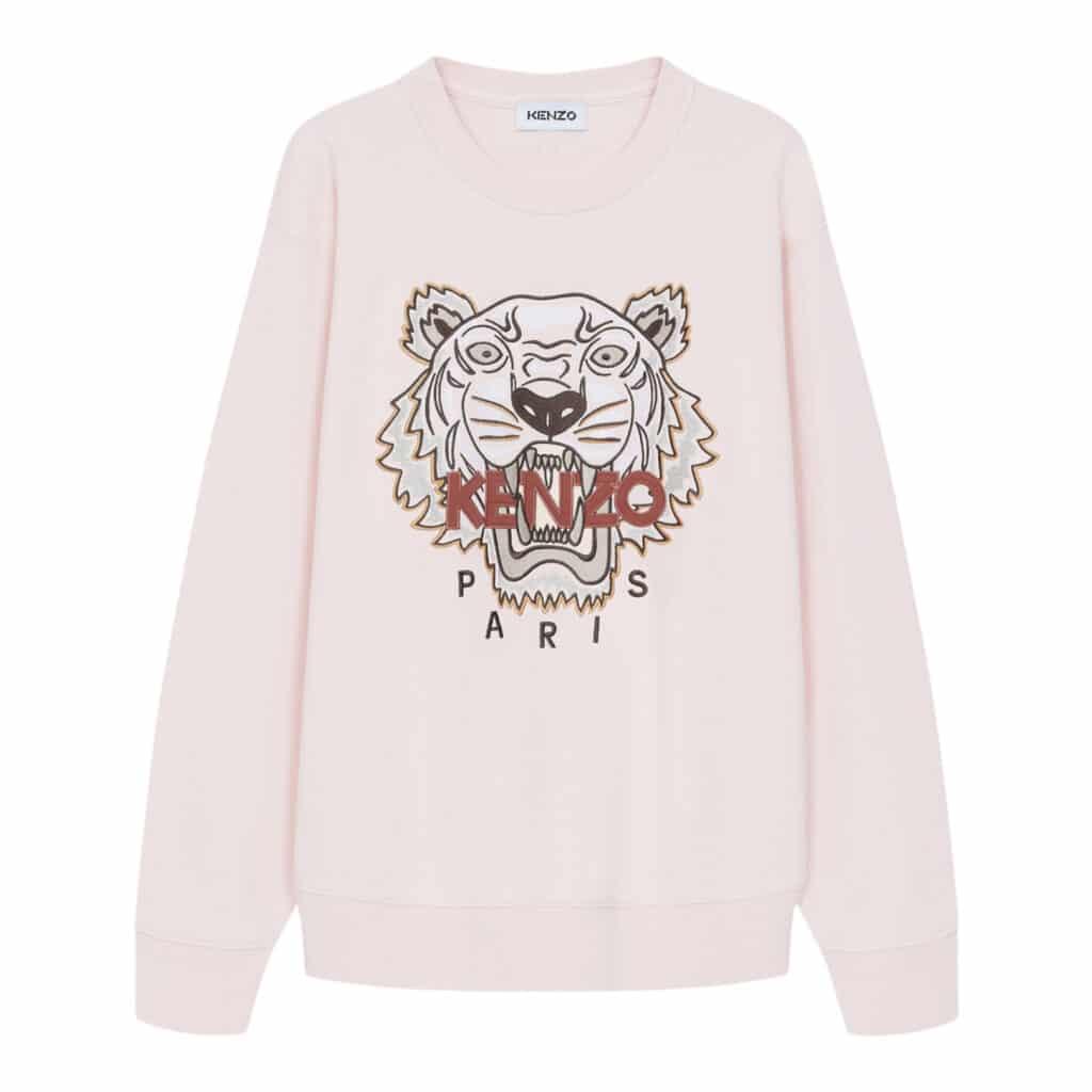 Kenzo Faded Pink Tiger Sweat