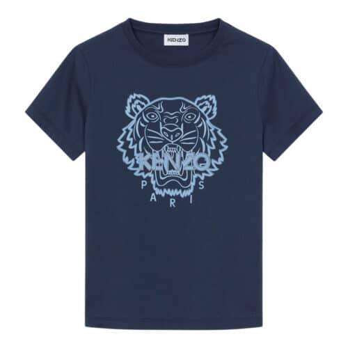 Kenzo Blå Tiger T-shirt