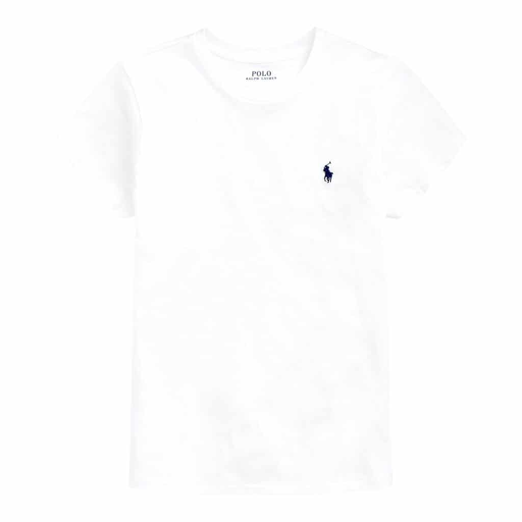 Polo Ralph Lauren Round neck Hvid T-shirt