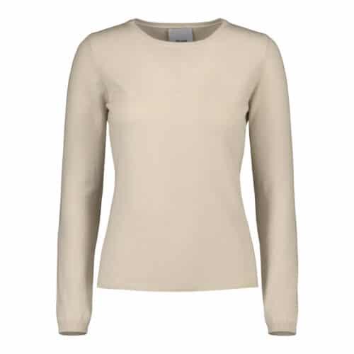 ALLUDE Cashmere Gå/Cream Sweater