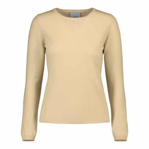 ALLUDE Cashmere Sand Sweater