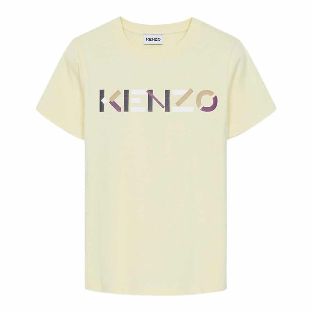 Kenzo Logo Cream t-shirt