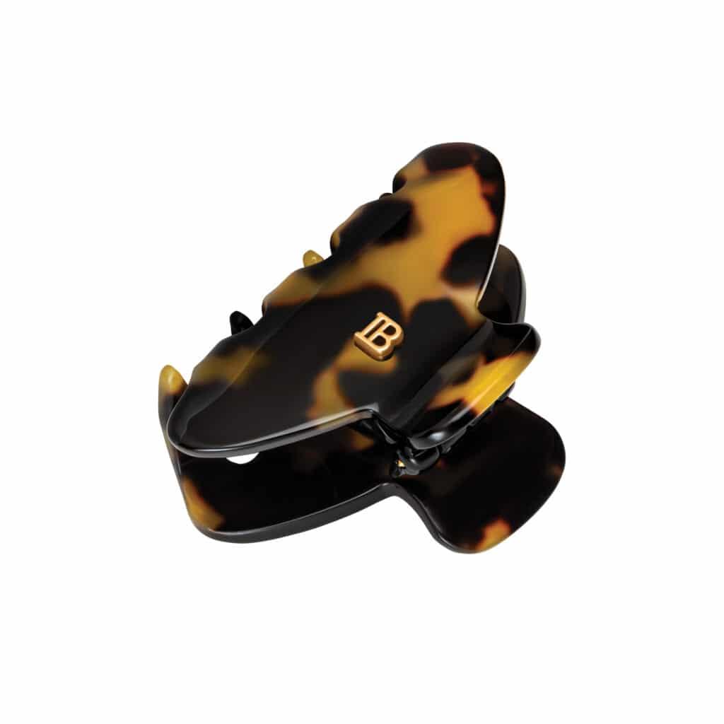 BALMAIN Small Pince Tortoise Shell