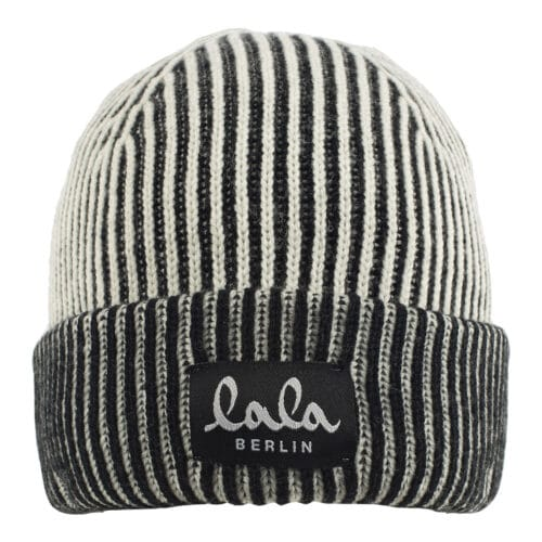 Lala Berlin Lines Cap Off-White