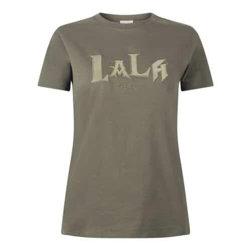 Lala Berlin T-Shirt Reda Lala Mix Olive