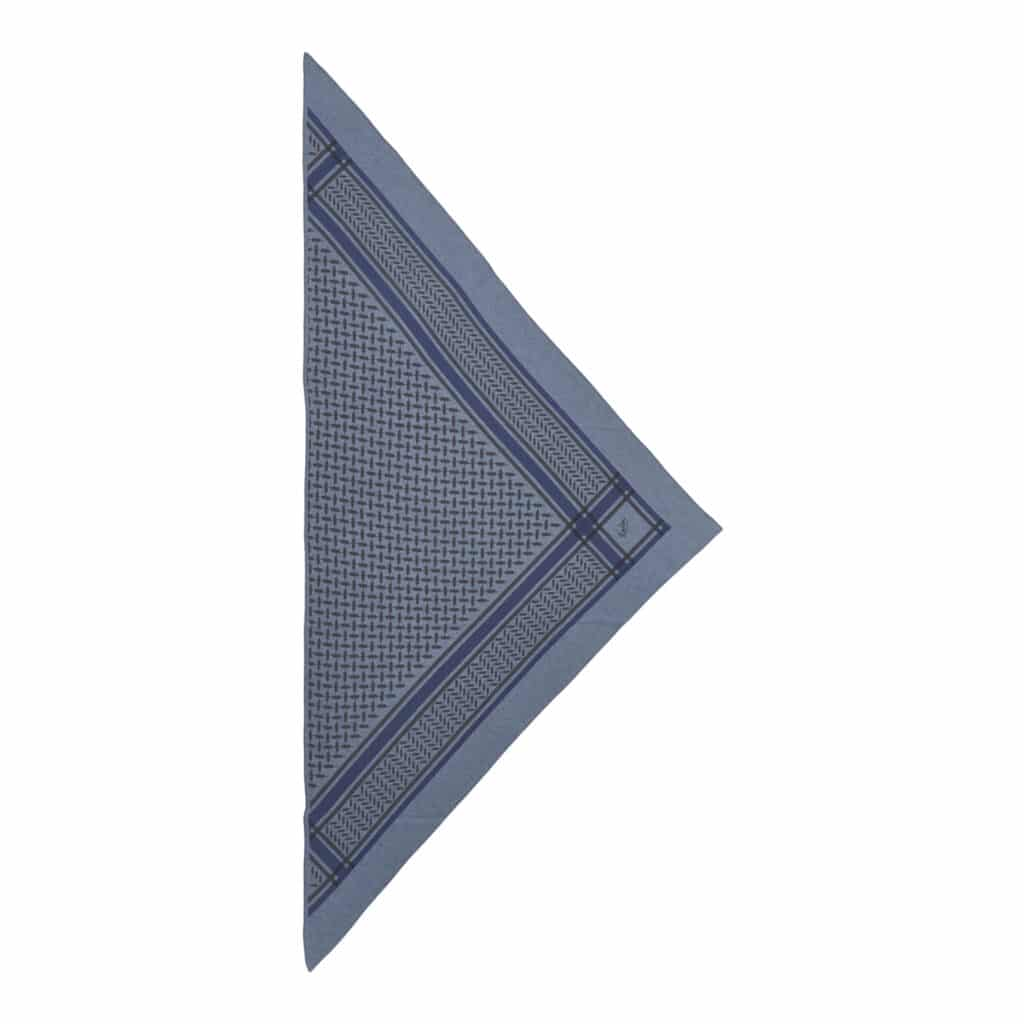 Lala Berlin Triangle Trinity Colored M Blue On Stone-Jeans