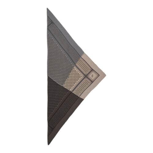 Lala Berlin Triangle Trinity Patchwork Limestone