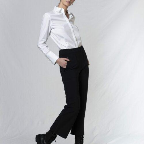Elise Gug Bormio Hvid Skjorte