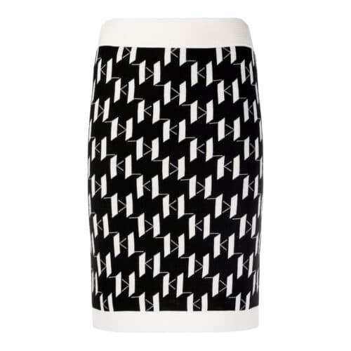 Karl Lagerfeld Monogram Nederdel
