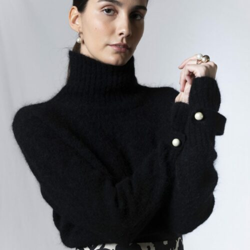 Elise Gug Paradise Sweater Med Rullekrave