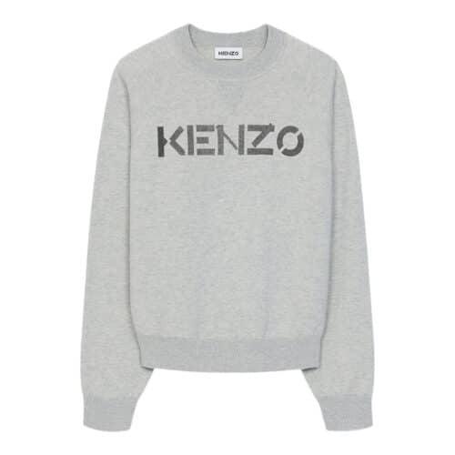 Kenzo Sweater Med Mørk Monogram