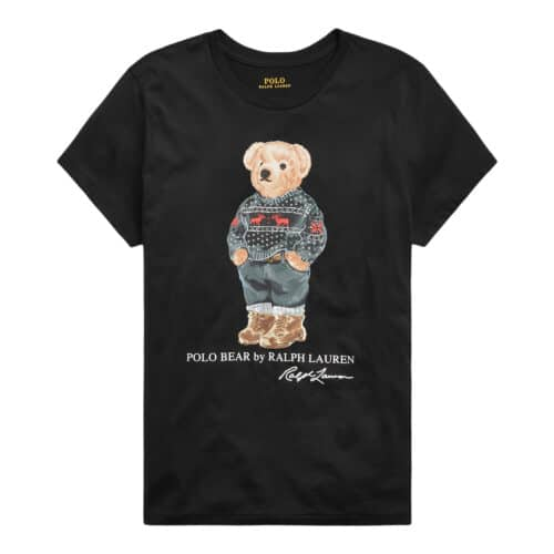 Polo Ralph Lauren Sort T-shirt Bamse