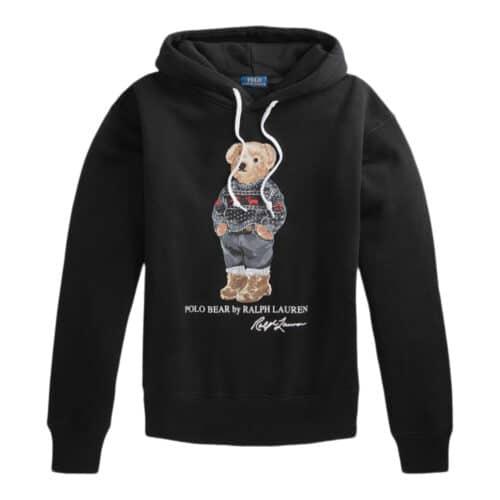 Polo Ralph Lauren Sort Bamse hoodie
