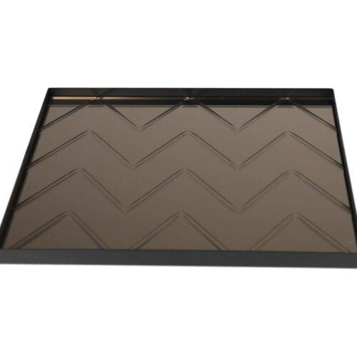 Spectrum Square tray Bronze
