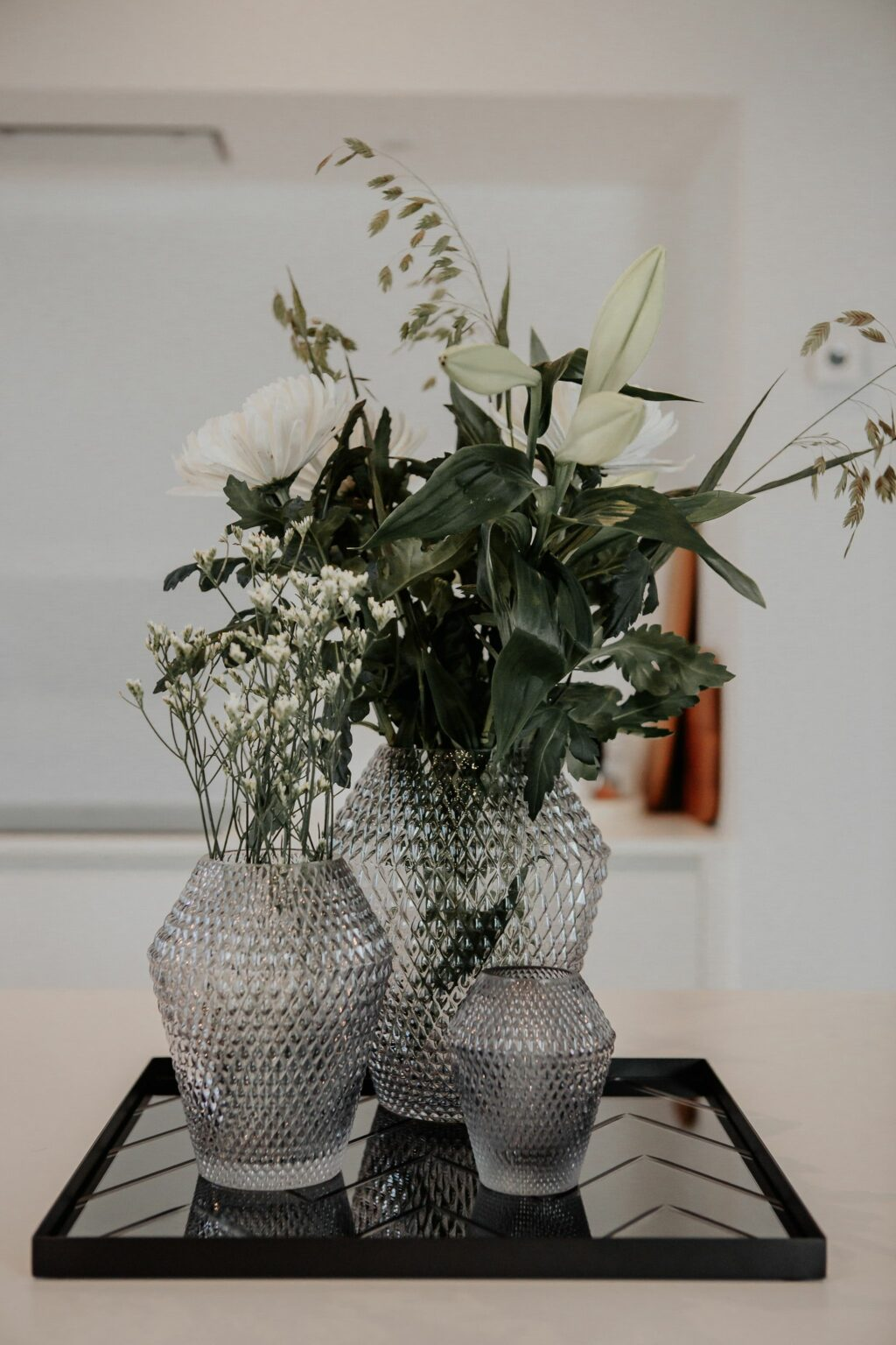 Spectrum Flow Vase Medium Light Grey