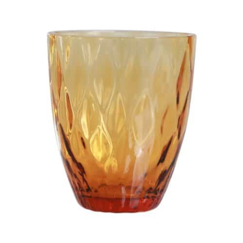 Spectrum Diamond Drinking Glass Golden