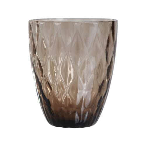 Spectrum Diamond Drinking Glass Smoke
