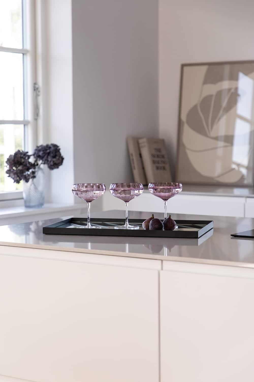 Spectrum Meadow Cocktail Glass Plum