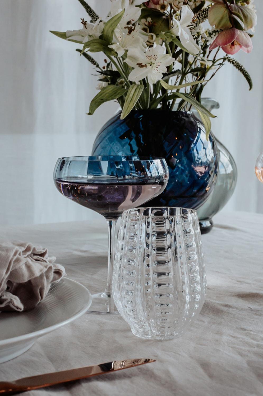 Spectrum Meadow Cocktail Glass Topaz