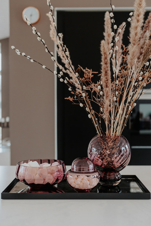 Spectrum Meadow Swirl Vase Plum
