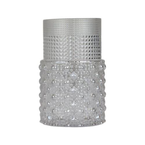 Spectrum Scarlett Vase Clear Small