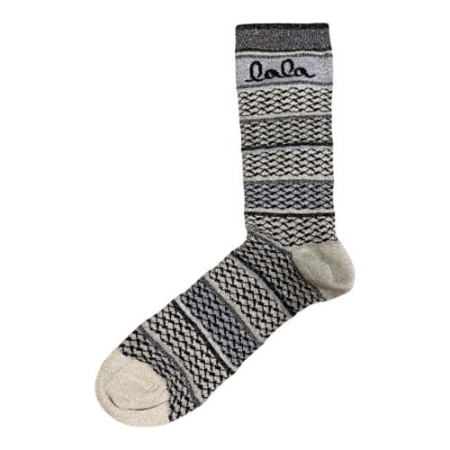 Lala Berlin Socks Silja Stripes Grey